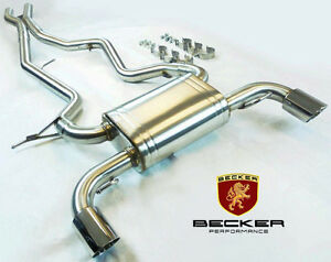 Becker Catback Exhaust For 07 08 09 10 Bmw 335i 335xi 3 0l At Mt Rwd Awd 4dr