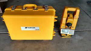 Topcon Its 1b Survey Total Station With Case And Extra Battery