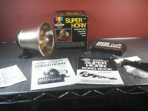 Vintage 1982 Cal Custom Super Musical Horn Free Priority Shipping