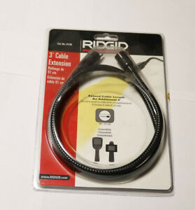 Ridgid Micro Explorer Inspection Camera 3 Foot Cable Extension Boroscope New