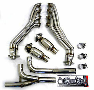 Obx Long Tube Header Exhaust Manifold 04 08 Ford F150 2wd F 150