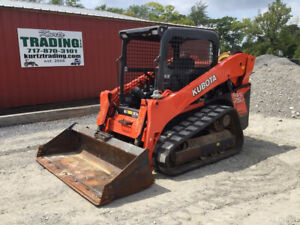 2017 Kubota Svl75 2 Compact Track Skid Steer Loader Super Clean Only 1500hrs