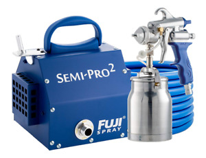 Fuji 2202 Semi Pro 2 Hvlp Spray System Blue