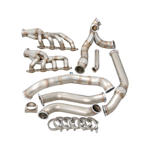 Cxracing Single Turbo Manifold Kit For 91 00 Toyota Lexus Sc300 Ls1 Lsx Engine