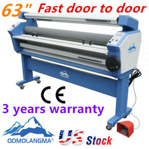 63 Full auto Cold Laminator Wide Format Laminating Machine With Heat Assisted