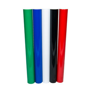 Oracal 651 Sign Vinyl 5 Color Starter Pack 24 X 5 Feet Rolls Self Adhesive