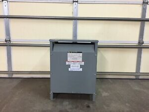 Square D 15t3h15kba 3 Phase 480 To 208 Transformer