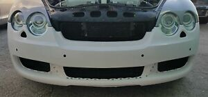 2005 2009 Bentley Flying Spur Factory Style Front Bumper Cover unpainted
