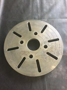 12 1 2 Lathe Precision Slotted Face Plate South Bend Logan Clausing Monarch
