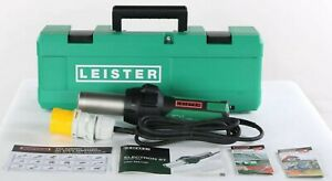 New 145 563 Leister Electron St Hot Air Blower Tool With Uk Plug