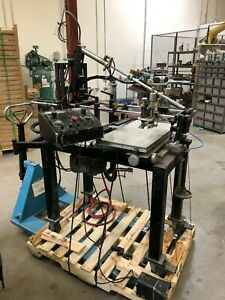 Systematic Automation Model 810 20 Silkscreen Printing Machine