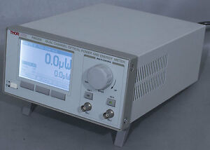 Thorlabs Pm320e Dual channel Optical Power Energy Meter Console