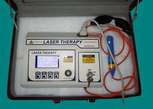 Certified Computerised Laser Therapy Device Different Medical Application Unit