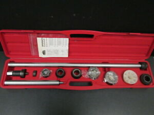 Universal Camshaft Bearing Installation And Removal Tool Set With Case