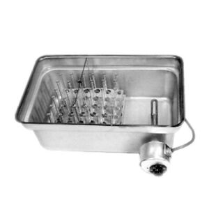 Laboratory Water Bath 36 Liter Capacity Stainless Steel With Rack And Shield