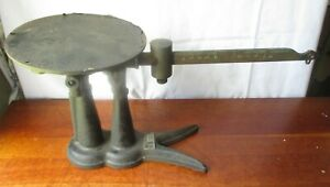 Antique Iron Fairbanks Morse Crows Foot Fish Tail Country Store Scale Brassbeam