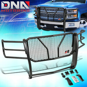 J2 Engineering For 2014 2015 Chevy Silverado 1500 Front Bumper Grille Mesh Guard