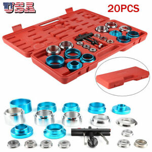 20pcs Universal Camshaft Crank Camshaft Oil Seal Remove Installation Tool Set Us