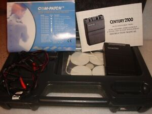 Century 2100 Tens Unit Dual Channel With Timer Great Condition