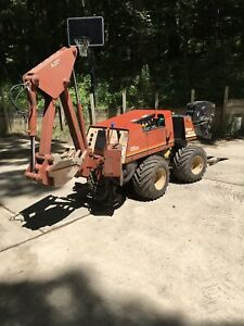 Ditch Witch 410sx Trencher Backhoe Plow
