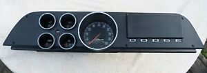 1972 73 74 Dodge Truck Ramcharger Instrument Cluster With Bezel