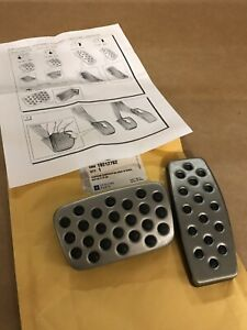 Gm 19212762 Buick Chevrolet Oem Automatic Stainless Steel Pedal Cover Set