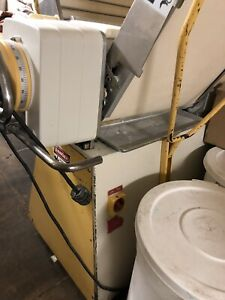 Rondo Commercial Bakery Model Dough Sheeter Roller Semi automat Feature
