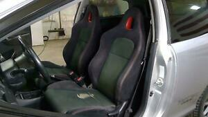 02 05 Honda Civic Si Ep3 Cloth Seat Set front rear Oem Used green red