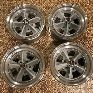 1969 70 Shelby Mustang Wheel Set Of Four Originals