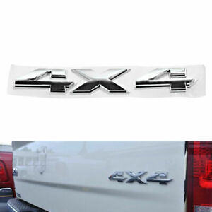 Chrome Ram 4x4 Emblem Badge Nameplate Lu 3d For Dodge Ram 1500 2500 3500