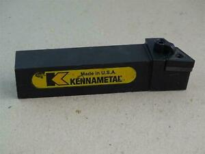 Kennametal Indexable Lathe Grooving And Cutoff Tool Holder Mtjnl S 20s