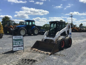 2002 Bobcat 773g Skid Steer Loader W Cab Only 1700 Hours Coming Soon