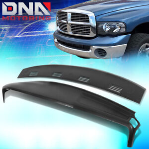 For 2002 2005 Ram Truck 1500 2500 Abs Defrost Vent Cap Dashboard Cover Overlay