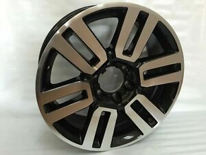 20 Toyota 4runner Limited Style Alloy Wheels Rims 2010 2014 Black Machined