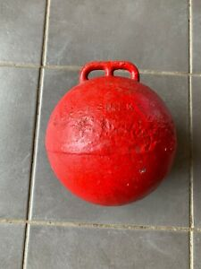 Vintage Fishing Boat Metal Buoy Float 9