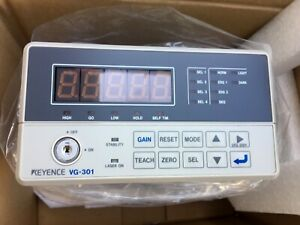 Keyence Vg 301 Laser Micrometer Controller With Keys