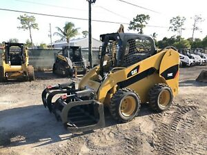2011 Caterpillar 246c Skid Steer New Tires Quick Attach Aux Hydraulics