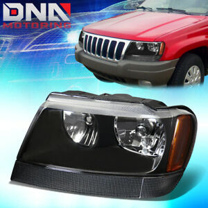 For 1999 2004 Jeep Grand Cherokee Wj Factory Style Headlight Lamp Assembly Left