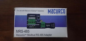 Macurco Mrs 485 Gas Detector Adapter led 1 3 4 In Depth
