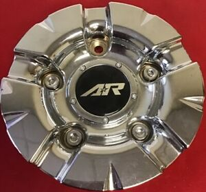 One Used American Racing S608 48 1637200011 Custom Chrome Rim Wheel Cap 3849