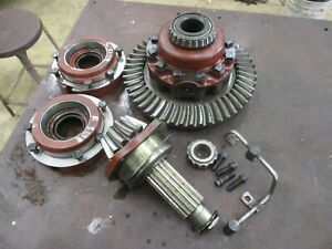 Ih Farmall 706 Used Working Complete Ring Pinion Assembly Antique Tractor