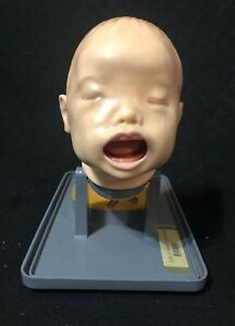 Vintage Armstrong Life Size Infant Intubation Training Anatomical Model Aa 3200