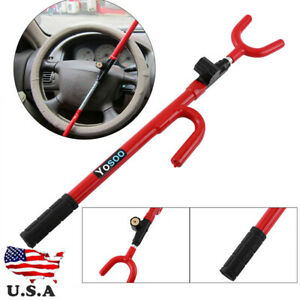 Steering Wheel Style Security Lock Anti Theft Security Car Auto Truck Suv Lock