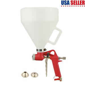 Air Power Paint Texture Sprayer Spray Gun Drywall Render Plaster Painting Set