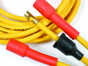 Accel 3008 Spark Plug Wire Set Yellow