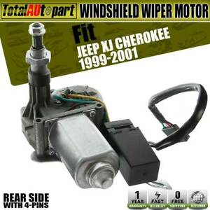 Windshield Wiper Motor W o washer pump For Jeep Xj Cherokee 1997 2001 55154944ab