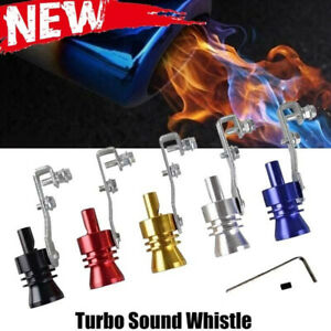 Universal Car Turbo Sound Whistle Exhaust Pipe Tailpipe Blow Off Valve Simulator