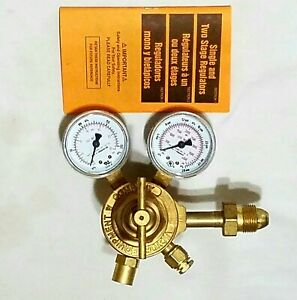 Victor Vts250a 580 Two Stage Inert Gas Regulator Gauges Welding Torch