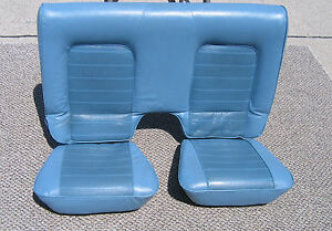 1979 Ford Pinto Runabout Rear Seat Cushion Upholstery 79 80 77 78 Bobcat