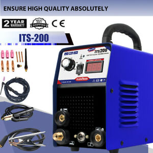 Argon Welding Machine 110 220 volt Durable Mma Arc Stick Tig Welder Lightweight